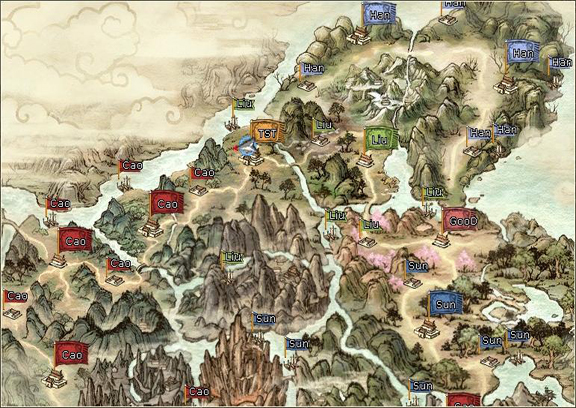 Rising Of Nation Feature 3Kingdoms Online